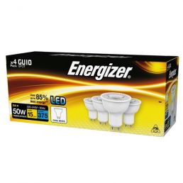 S15161 Energizer Led GU10 375LM 5W COOL White, Pack Of 4