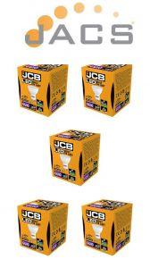 JCB LED GU10 350lm 100° 3000k, Pack Of 5