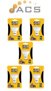 JCB LED GU10 370lm 100° 6500k, Pack Of 5