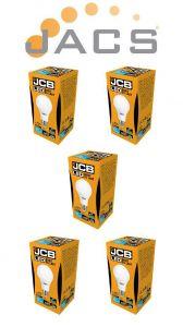 Jcb Led A60 1520lm OPAL E27 (ES) 3000K, Pack Of 5