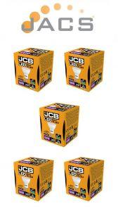 JCB LED GU10 370lm 100° 4000k, Pack Of 5