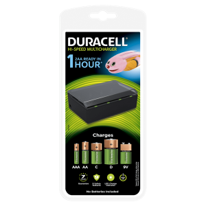 S512 Duracell CEF22 3 Hour Multi Charger | Hi-Speed Multi Charger