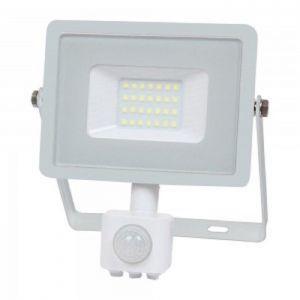 V-TAC -50-S 50W SMD Pir Sensor Floodlight With Samsung Chip Colorcode:4000K WHITE BODY WHITE GLASS