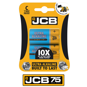 S8810 Jcb Ultra Alkaline C Size, Pack Of 2