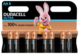 S5724 Duracell AA Ultra Power, Pack Of 8
