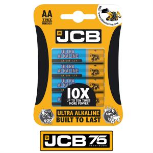 S5491 Jcb Ultra Alkaline Aa, Pack Of4
