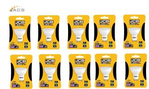 JCB LED GU10 370lm 100° 6500k Cool White (10 PACK)