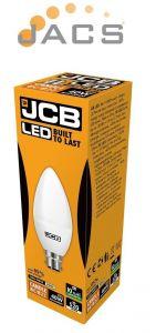 Jcb Led 6W Candle B22 470lm OPAL B22 6500k Cool White