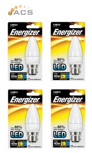 Energizer Opal Led Candle 6W B22 470LM Warm White (4 Pack)