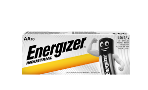 S6602 Energizer AA Industril, Pack Of 10