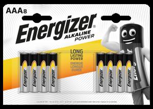 S9338 Energizer AAA  Alkaline Power, Pack Of 8