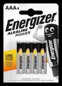 S8993 Energizer AAA Alkaline Power, Pack Of 4