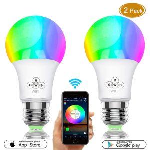 Smart E27 7W RGBW (2 Pack)