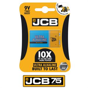 S8812 Jcb Ultra Alkaline 9V, Pack Of  1