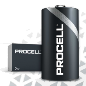 S3863 Duracell Procell  D Size, Box Of 10 (Price Per Cell)