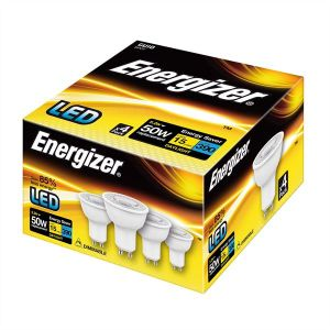 S10329 Energizer Led GU10 390LM 5.2W Daylight Dimmable, Pack Of 4