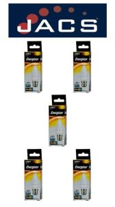 Energizer Led Candle  470LM 5.9W OPAL B22 (BC) Warm White, Pack Of 5