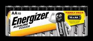 S8997 Energizer AA Alkaline Power, Pack Of 10