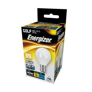 Energizer Led Golf 470LM 5.9W Opal B15 (SBC) Warm White