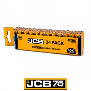 S8807 Jcb Ultra Alkaline AA, Pack Of 24