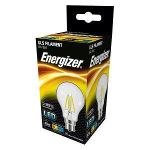 Energizer Filament Led GLS 470LM 4.3W B22 (BC) Warm White