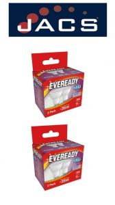 Eveready Led GU10 250LM Daylight, PACK OF 4