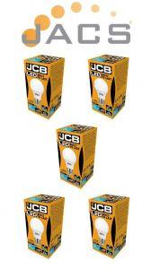 Jcb Led A60 806lm OPAL E27 (ES) 6500K, Pack Of 5