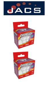 Eveready Led Gu10 235lm Warm White, PACK OF 4