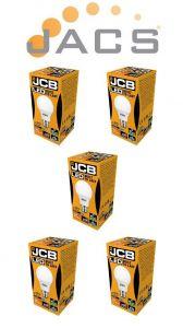 Jcb Led A60 806lm OPAL B22 (BC) 6500K, Pack Of 5