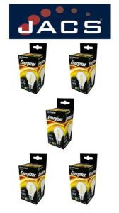 Energizer Filament Led GLS 470LM 4.3W B22 (BC) Warm White ,Pack Of 5