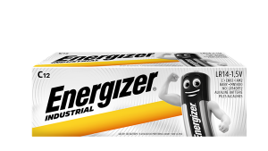 S660 Energizer C Size Industrial, Pack Of 12