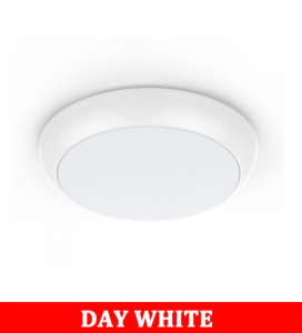 V-Tac 09 8w Full Round Dome Light (Microwave Sensor) With Samsung Chip Colorcode:4000k