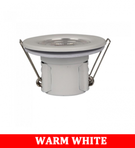 V-TAC 885 5W Spotlight Firerated Fitting With Samsung Chip Colorcode:3000K -WHITE
