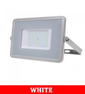 V-TAC 56 50W SMD Floodlight With Samsung Chip Colorcode:4000k Grey Body Grey Glass (120LM/W)