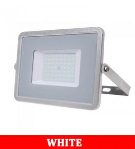 V-TAC 56 50W SMD Floodlight With Samsung Chip Colorcode:6400k Grey Body Grey Glass (120LM/W)