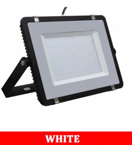 V-TAC 206 200W Smd Floodlight With Samsung Chip Colorcode:6400k Black Body Grey Glass (120lm/W)