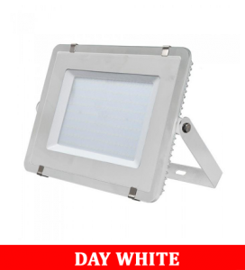V-TAC 306 300W SMD Floodlight With Samsung Chip Colorcode:4000K White Body White Glass (120LM/W)