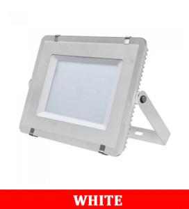 V-TAC 306 300W SMD Floodlight With Samsung Chip Colorcode:6400K White Body White Glass (120LM/W)