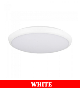 V-Tac 12SS 12W Led Slim Dome Light(Emergency Battery) With Samsung Chip Colorcode:6400k