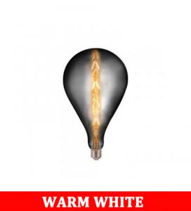 V-TAC 2159 8W G165 Bulb-Smoky Grey With Colorcode:2200k E27