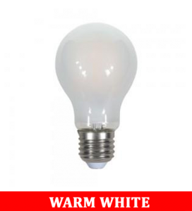 V-TAC 2049 9W A67 Filament Frost Cover Bulb Colorcode:2700K E27