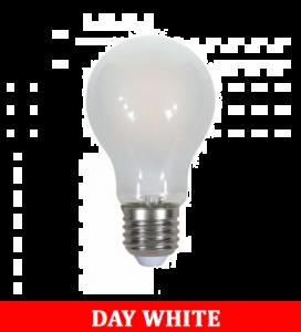 V-Tac 1938 8w A67  Frost Filament Bulb Colorcode:4000k E27