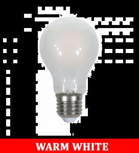 V-Tac 1938 8w A67 Frost Filament Bulb Colorcode:2700k E27
