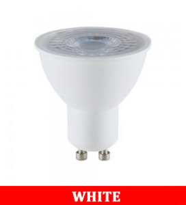 V-TAC 2305 5W GU10 Plastic Spotlight With Ic Driver & Lens Colorcode:6400K 38'D
