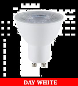 V-TAC 2305 5W GU10 Plastic Spotlight With Ic Driver & Lens Colorcode:4000K 38'D