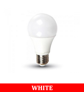 V-TAC 2099 9W A60 Thermal Plastic Bulbs Colorcode:6400k E27