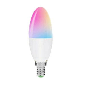 LOHAS Smart Candle Bulb E14 SES Dimmable Works with Alexa and Google Home (Pack of 5)