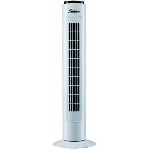 Stirflow STF1R White 3 Speed Oscillating Remote Control Tower Fan