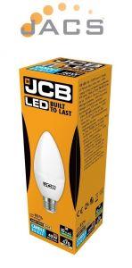 6W JCB LED CANDLE 470lm OPAL E27 3000K Warm White