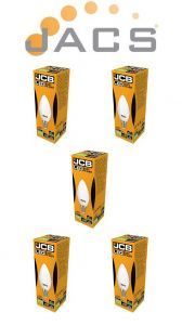 Jcb Led Candle 470lm OPAL E14(SES) 6500K, Pack Of 5